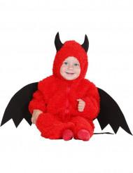 Vauvan paholaisen punainen naamiaisasu halloweeniin