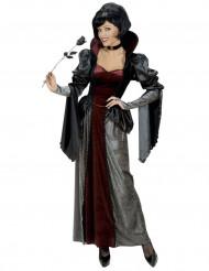 Vampyyrikrevittären naamiaisasu naiselle halloween