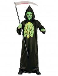 Halloweenin viikatemiehen naamiaisasu lapselle