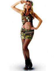 Naamiaisasut aikuisille Univormut Army Naiset M   One-size ... a77b46c388