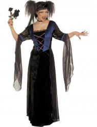 Naisten Halloween asu Goottiprinsessa