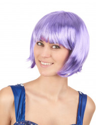 Violetti peruukki, lyhyt