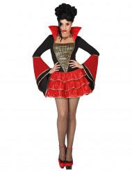 Naisten Halloween Vampyyriasu