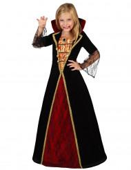 Vampyyrityttö - Naamiaisasu lapselle halloweenjuhliin