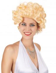 50-luvun Hollywood - Vaalea peruukki