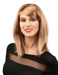 Vaalea glamour peruukki