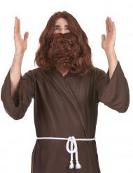 Jeesus-peruukki ja parta