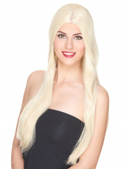 Naisten erittäin pitkä tukkainen luksus peruukki