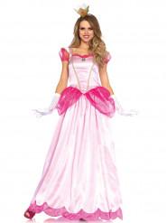 Vaaleanpunainen prinsessa-asu