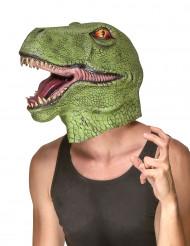 Aikuisten dinosaurusnaamio, lateksia