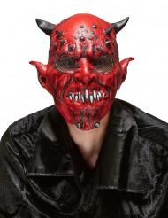 Piru - Aikuisten lateksinen Halloween naamari