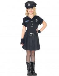 Naispoliisin mekko - Naamiaisasu lapsille