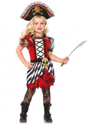 Värikäs merirosvokapteenin mekko lapsille