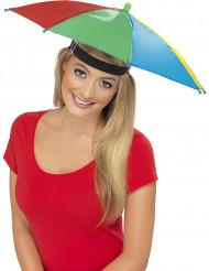 Aikuisten monivärinen sateenvarjohattu