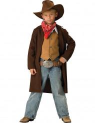 Pitkähelmainen Deluxe- cowboyasu lapsille
