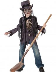 Haudan variksenpelättimen naamiaisasu pojalle halloween