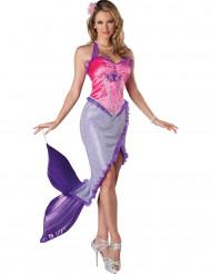 Naisten violetti merenneitoasu - premium