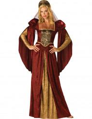 Premium-naamiaisasu -renessanssiajan mekko naisille