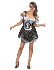 Tyylikäs Halloween luurankoasu naisille