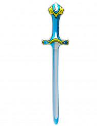 Sininen puhallettava miekka