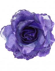 Violetti ruusukoriste hiuksiin