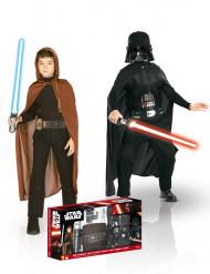Tähtien sota™- setti: Darth Vador™- ja Jedi™- asu lapsille