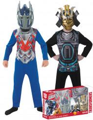 Optimus Primen™ ja Driftin™ naamiaisasusetti lapselle - klassikko