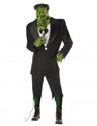 Aikuisten naamiaisasu Frankensteinin hirviö