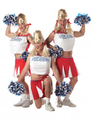 Aikuisten naamiaisasu Hulvaton cheerleader