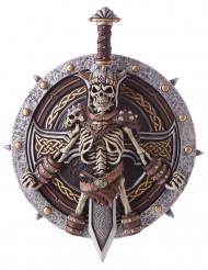 Viikinki miekka ja kilpi
