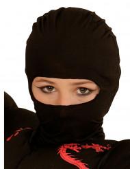Ninjan musta kypärämyssy lapselle