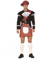 Aikuisten naamiaisasu Humoristinen skotlantilainen kiltti