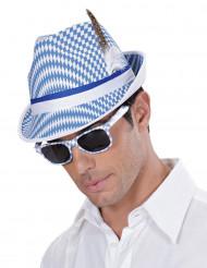 Sinivalkoiset Oktoberfest-lasit aikuisille