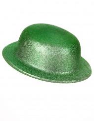 Vihreä, kimmeltävä knallihattu
