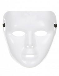Kiiltävän valkoinen naamari aikuisille