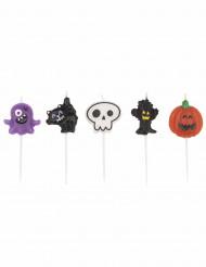 Halloween-kynttilät, 5 kpl
