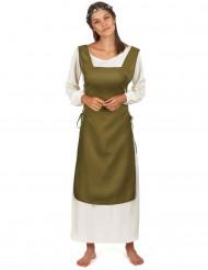 Keskiaikainen maalaistyttö -asu naisille