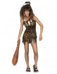 Luolanainen leopardimekossa - Naamiaisasu aikuisille