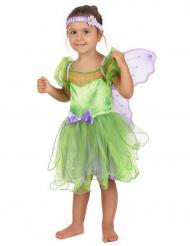 Vihreä keijun mekko lapsille