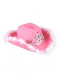 Pinkki lehmipoikahattu