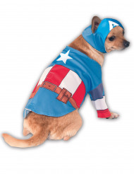 Avengers™ Kapteeni Amerikka -naamiaisasu koirille