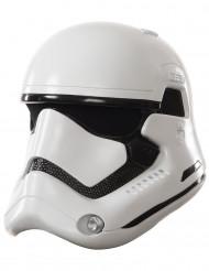 Aikuisten 2-osainen naamari valkoinen StormTrooper - Star Wars VII™