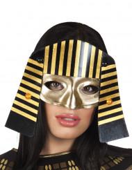 Egyptiläisen faaraon puolinaamio aikuisille