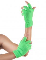 Neonvihreät sormikkaat aikuisille