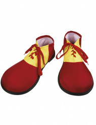 Punaiset pellen kengät aikuisille