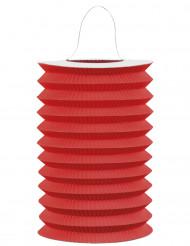 Punainen paperivarjostin