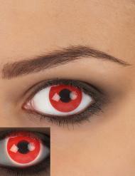 Punaiset UV-piilolinssit