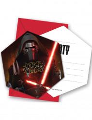 Star Wars VII™ -kutsukortit ja kuoret, 6 kpl