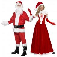 Joulupukki ja Joulumuori -pariasu aikuisille