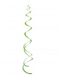 Ripustettavat vihreät spiraalikoristeet - 8 kpl